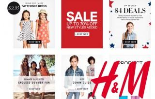 Детская одежда в H&M