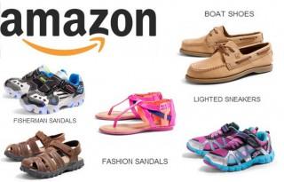 Детская обувь на Амазон