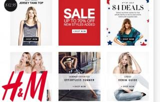 Женская одежда в H&M