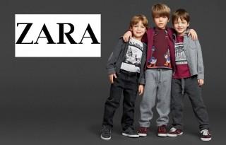 Детская одежда в Zara