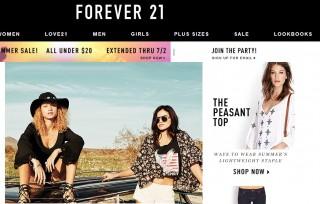 Женская одежда Forever 21