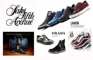 Мужская обувь с SaksFiveAvenue