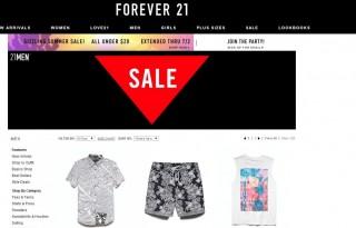 Мужская одежда Forever21