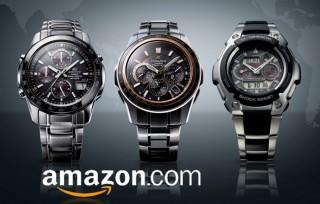 Наручные часы на Amazon