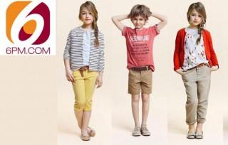 Детская одежда на сайте 6pm