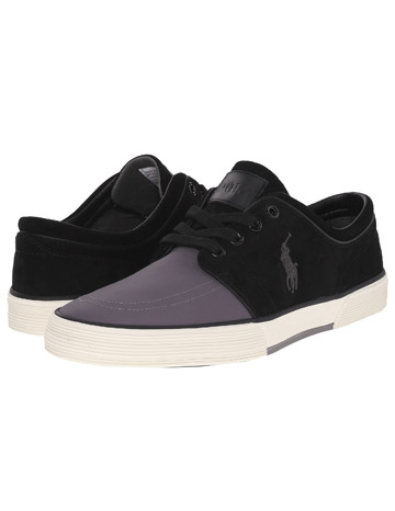 Ralph Lauren Faxon Low Charcoal